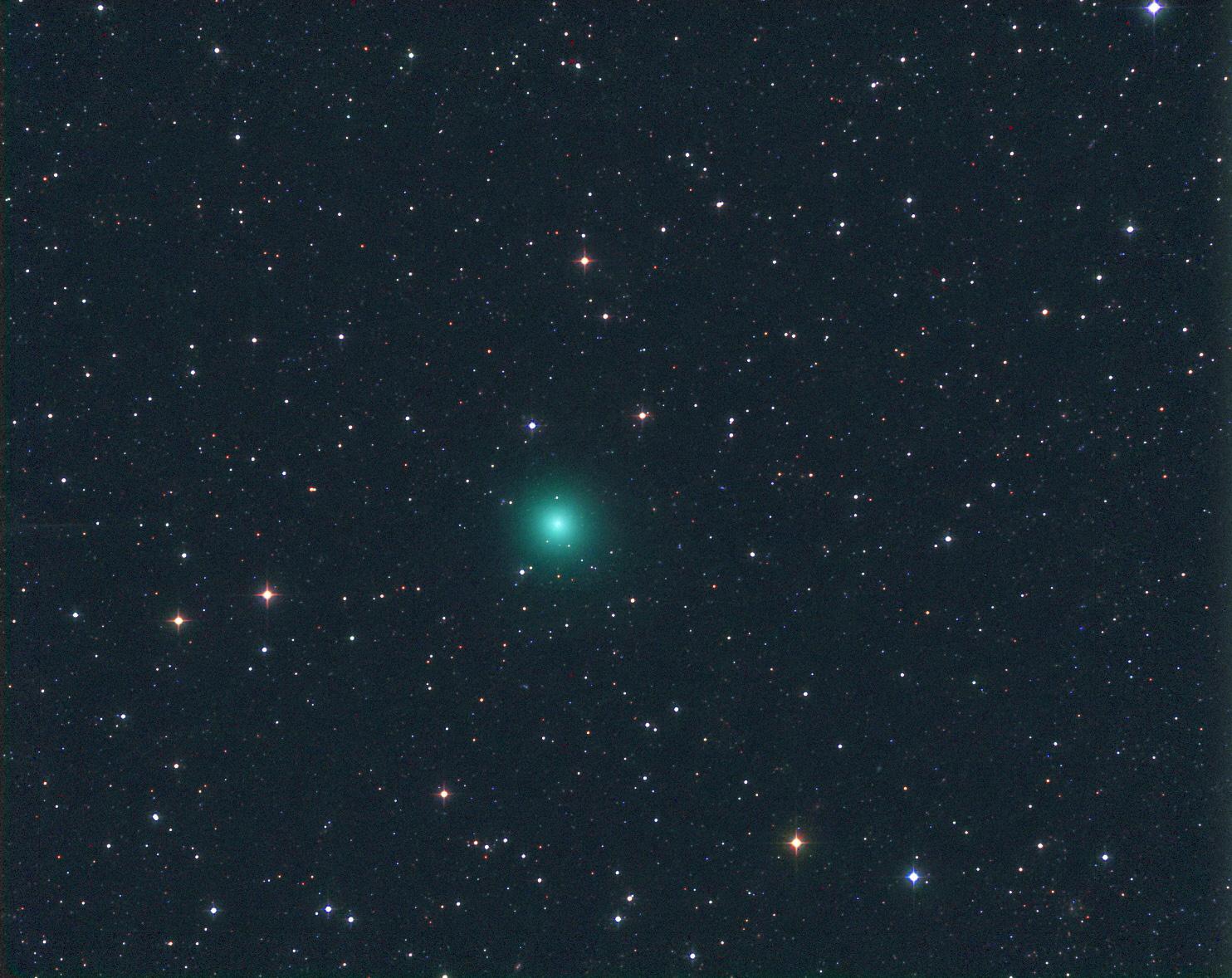 Komety vizuálně v době novu 29. 12. 2016