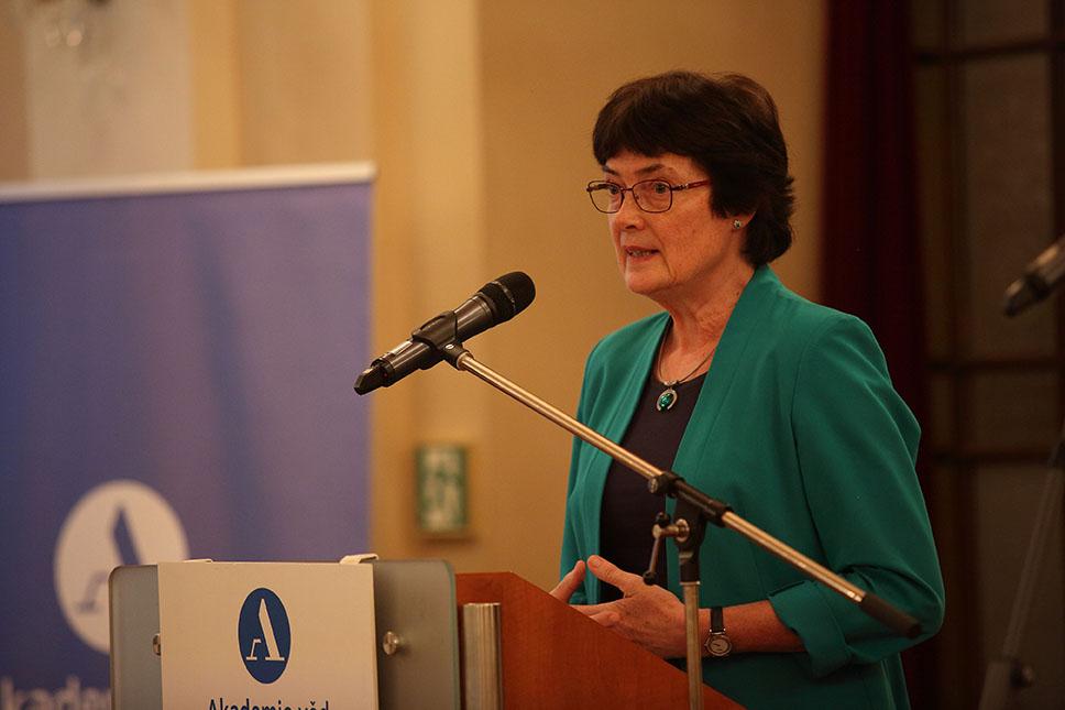 Eva Zažímalová, nová předsedkyně Akademie věd ČR