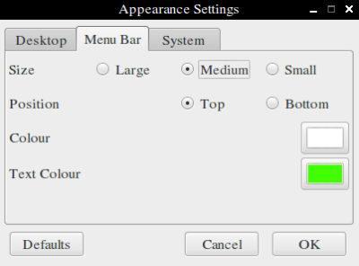 raspbian_volby_menu_bar