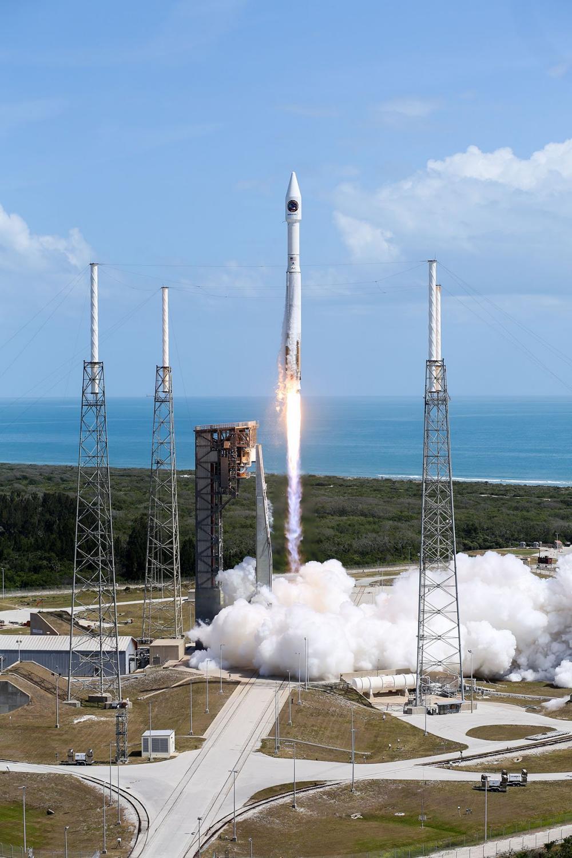 """Start zásobovací lodě Cygnus OA-7 """"John Glenn"""""""