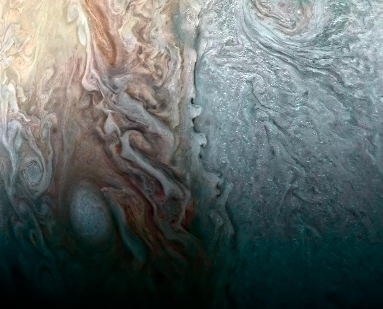 Vesmírné pohledy (V.) – Spirální galaxie na Jupiteru