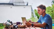 Mladý astronom Jiří Vala tváří Microsoftu